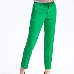 Banana Republic Green Ryan Pants Size 10